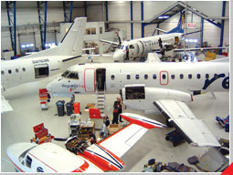 Täby Air Maintenance AB have recieved a Russian Aircraft Maintenance Approval