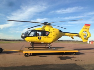 TAM supports Värmland's County Council with line station for HEMS EC 135