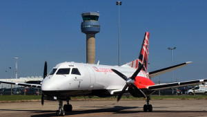 TAM delivers another cargo converted Saab 340B to Loganair