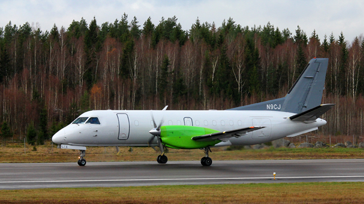 TAM delivers a cargo converted Saab 340B to Jetstream Aviation Capital
