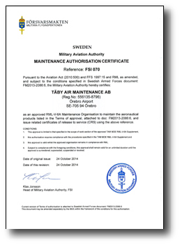 RML-V-6A-Maintenance-Authorisation