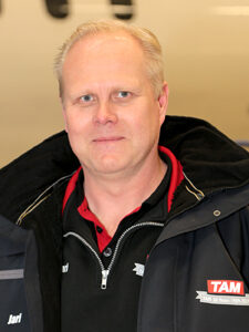 Jari Järvelä new Hangar Operations Manager